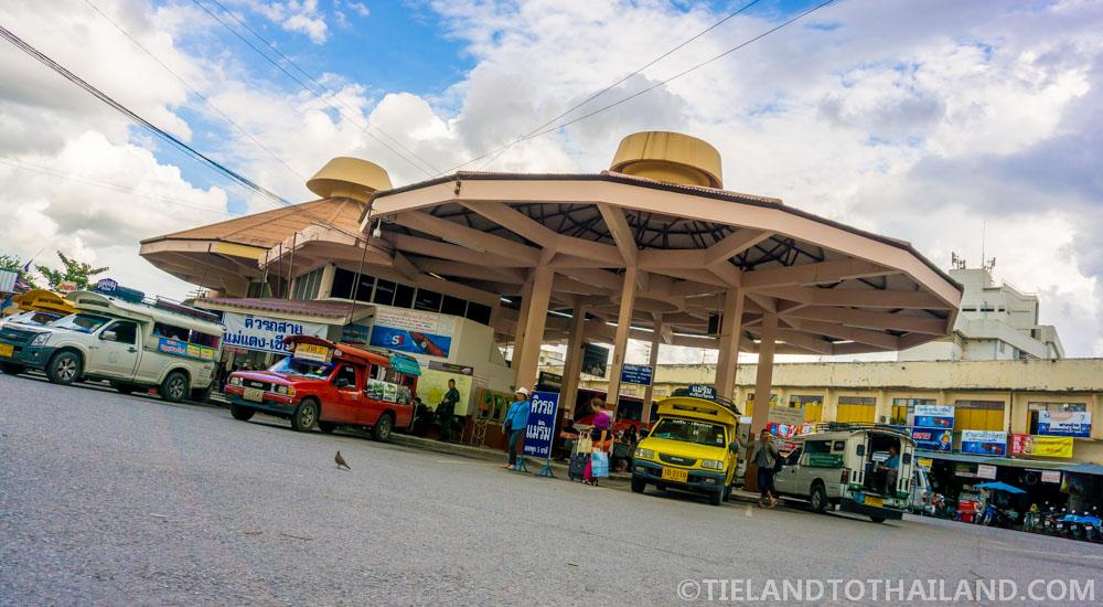 Getting from Chiang Mai to Chiang Dao: Chang Puak Bus Station in Chiang Mai