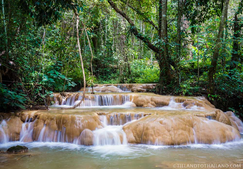 Sri Sungwan Waterfall Pha Daeng National Park Thailand