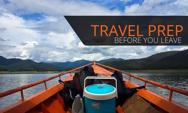Thailand Travel Preparation