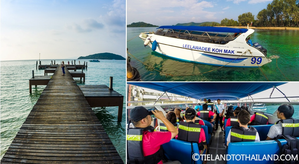 Speedboat to Koh Mak