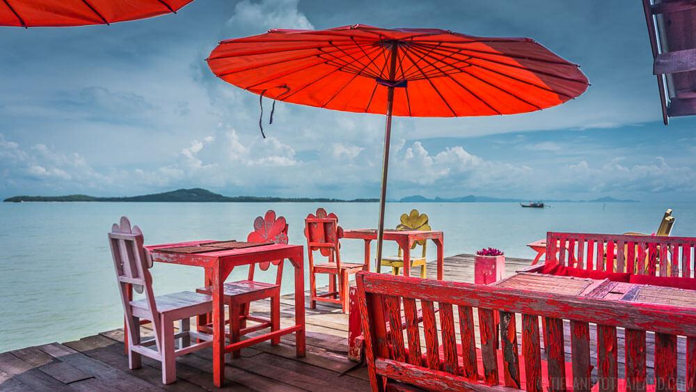 Caoutchouc Koh Lanta Thailand