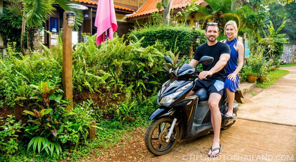 Why I don't ride a motorbike in Thailand