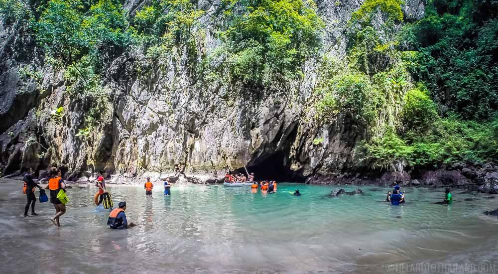 Emerald Cave at Koh Mook