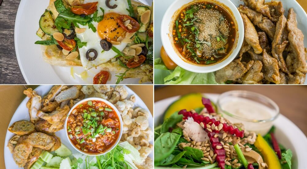 Mid-range Thai and Western food found in Chiang Mai