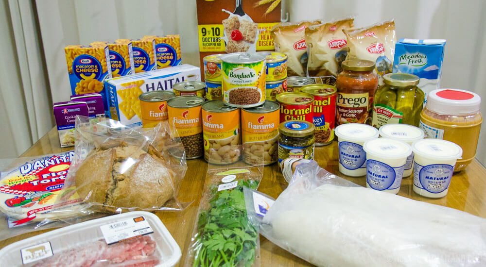 Cost of Food in Thailand: $100 of Imported Groceries