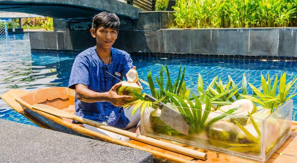 JW Marriott Khao Lak Coconut Boat