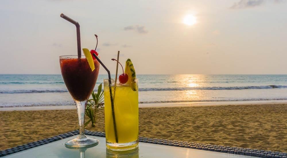 JW Marriott Khao Lak Sunset Cocktails