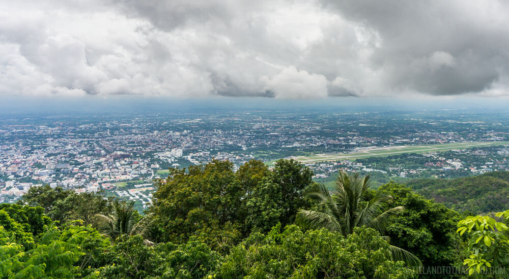 Views from Wat Phrathat Doi Suthep
