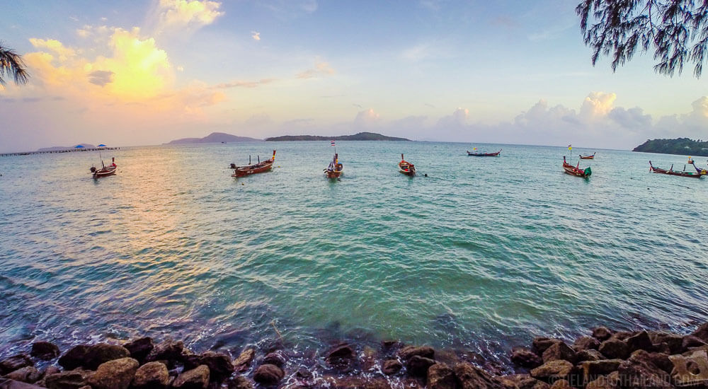 Things to do in Phuket: Rent a longtail boat fro Rawai Beach