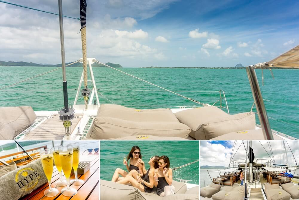 Things to do in Phuket: HYPE Luxury Yacht