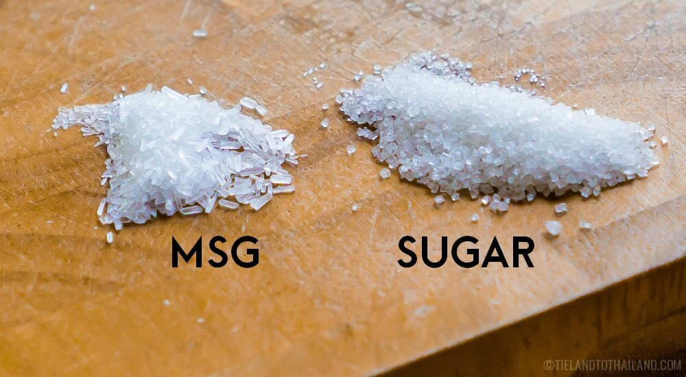Sugar vs MSG in Thai food
