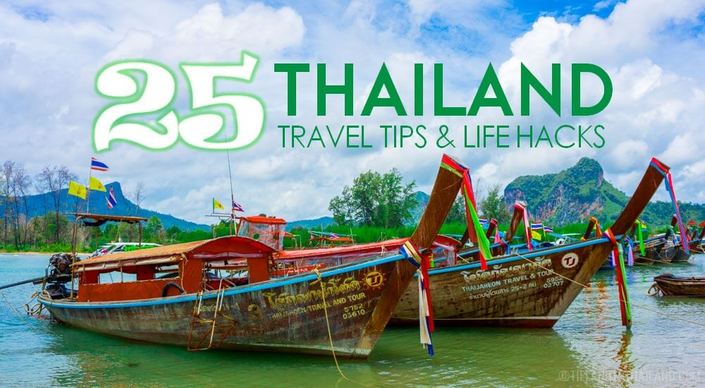 25 Handy Thailand Travel Tips and Life Hacks
