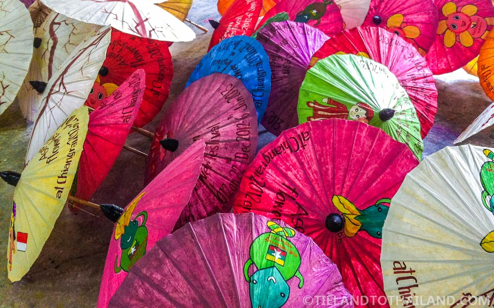 Silk & Umbrella Villages: one of the more educational Chiang Mai day trips you can experience