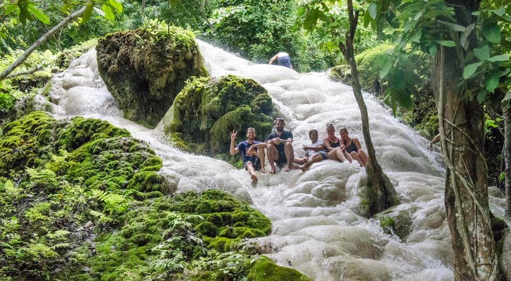 Bua Tong Waterfalls are one of the most unique Chiang Mai day trips you can do