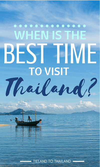 When is best time to visit Thailand? We break it down by regions and seasons. Map and weather charts included. | Tieland to Thailand
