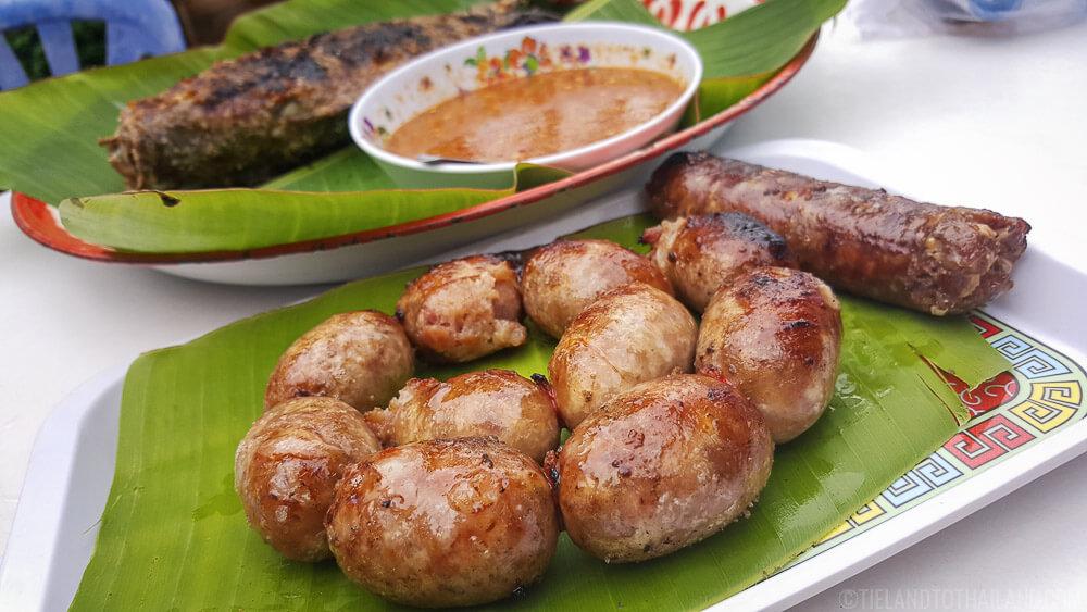 Sai Grok Isaan is a staple in Northeastern Thai Food