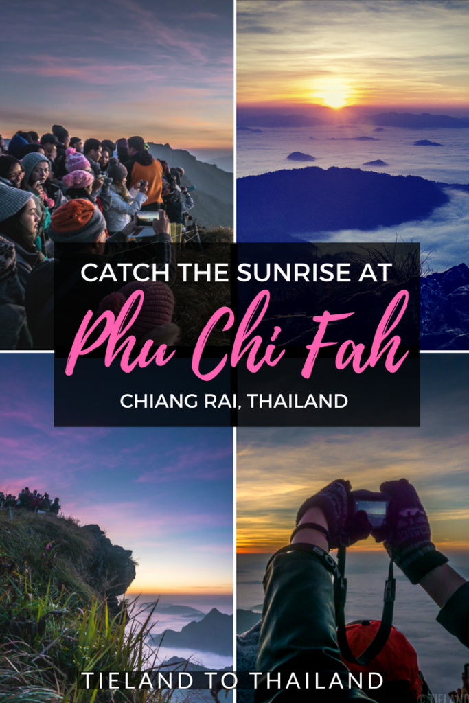 Phu Chi Fah is among the most beautiful places to catch the sunrise in Northern Thailand. Popular with Thais, it's a hidden gem for international travelers. Hotel recommendations, directions, sunrise timeline, and map included. | Tieland to Thailand