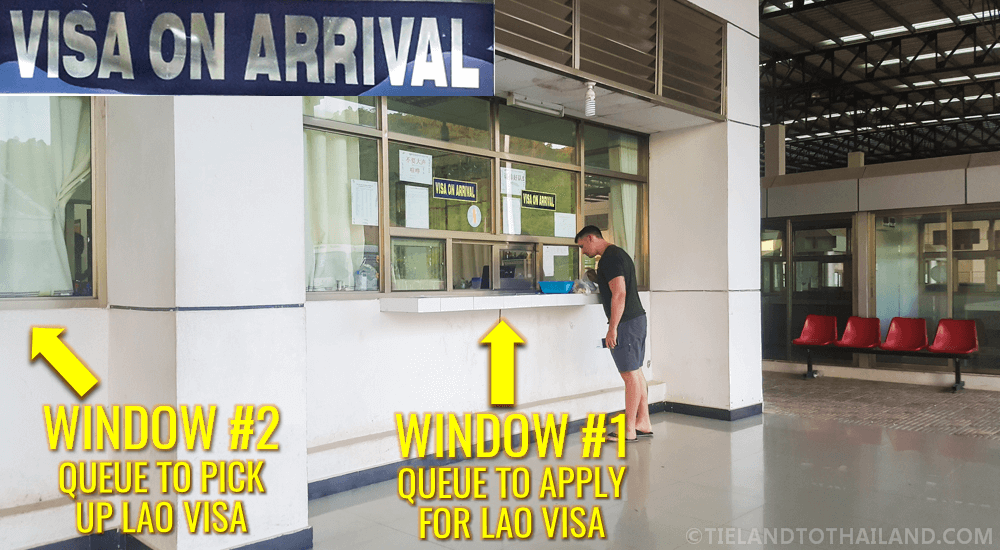Laos Visa on Arrival Counter