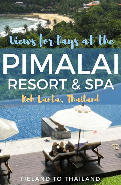The Pimalai Resort & Spa on Koh Lanta is exactly what we picture when we dream of a Thai island getaway. Just take a look!   Tieland to Thailand