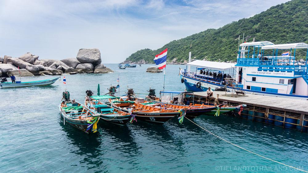 Pier Koh Nangyuan Thailand