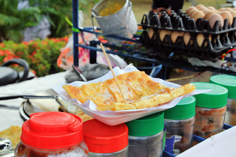 Banana Roti Thai Street Food