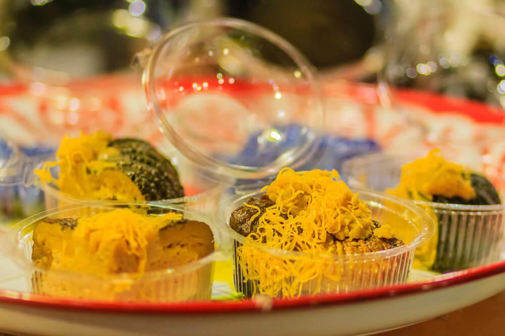 Pumpkin Custard - Sungkaya Fuktong | Food Guide to Thai Street Snacks