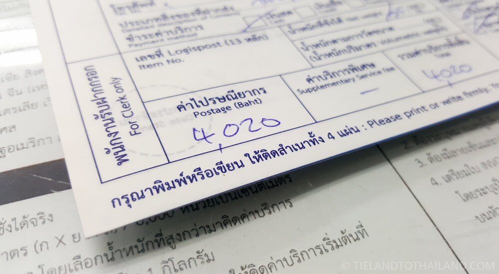 4,020 baht: Cost of Shipping a Motorbike in Thailand (Big Bike)