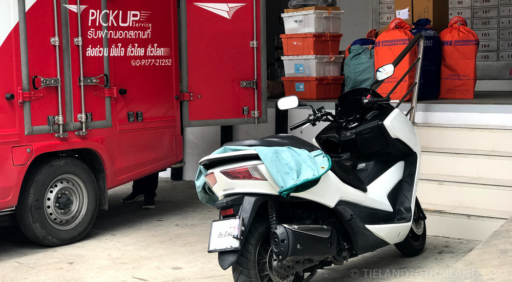 Shipping a Motorcycle in Thailand by Mail