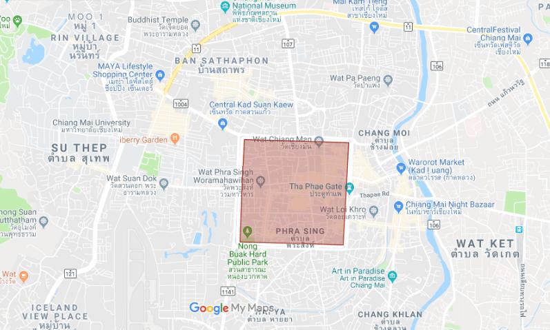 Neighborhood: Old City of Chiang Mai