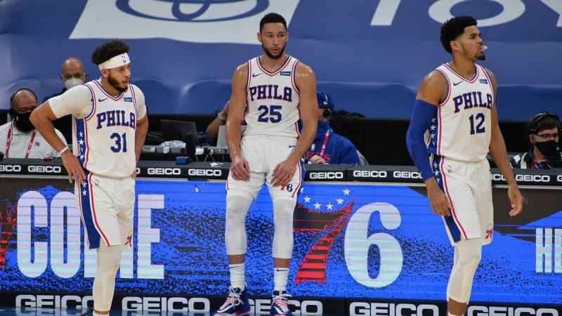 Sixers Curry Simmons Harris