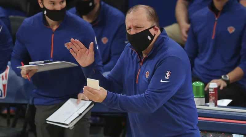 Tom Thibodeau New York Knicks