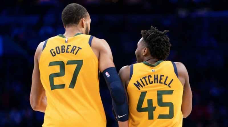 Utah Jazz Gobert Mitchell