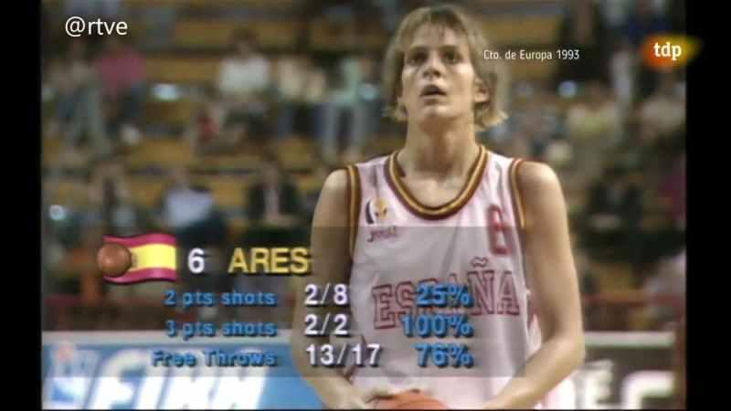 Blanca Ares EuroBasket Femenino 1993
