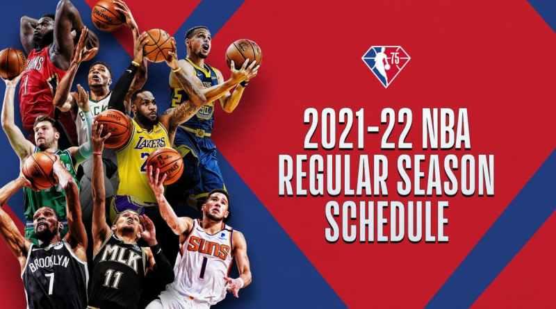 Calendario NBA Temporada 21/22