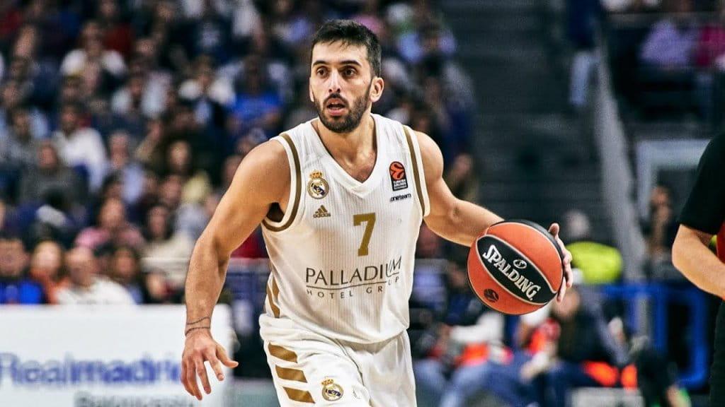 Campazzo Madrid NBA