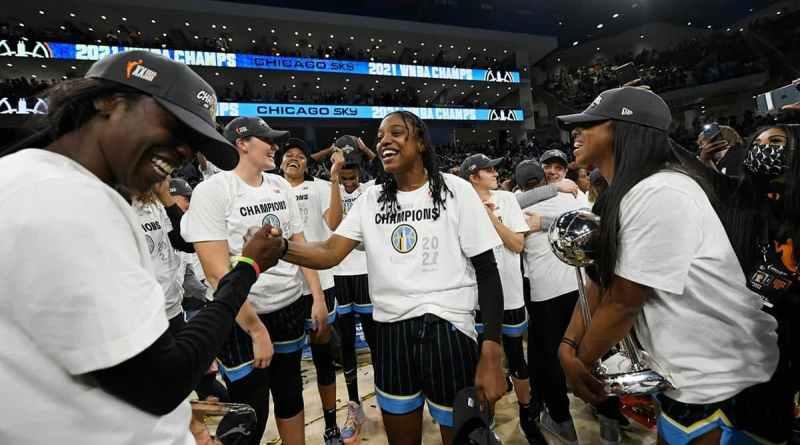 Chicago Sky Campeonas WNBA 2021