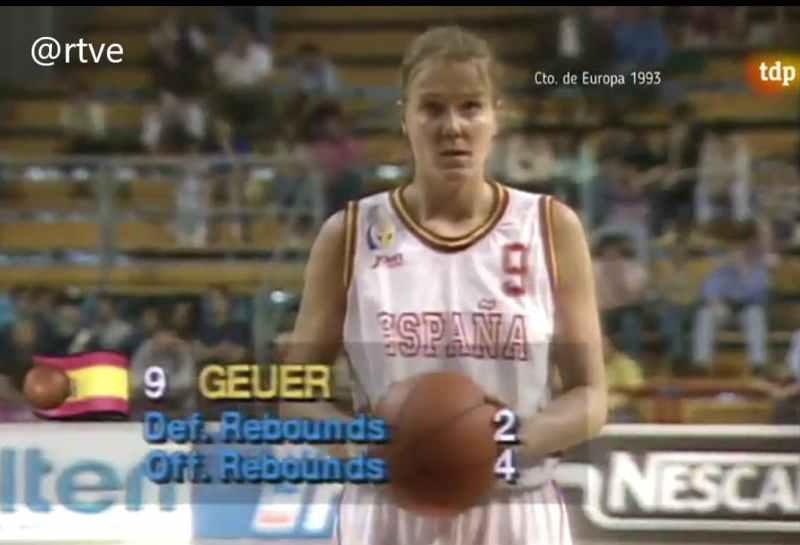 Wonny Geuer EuroBasket 1993