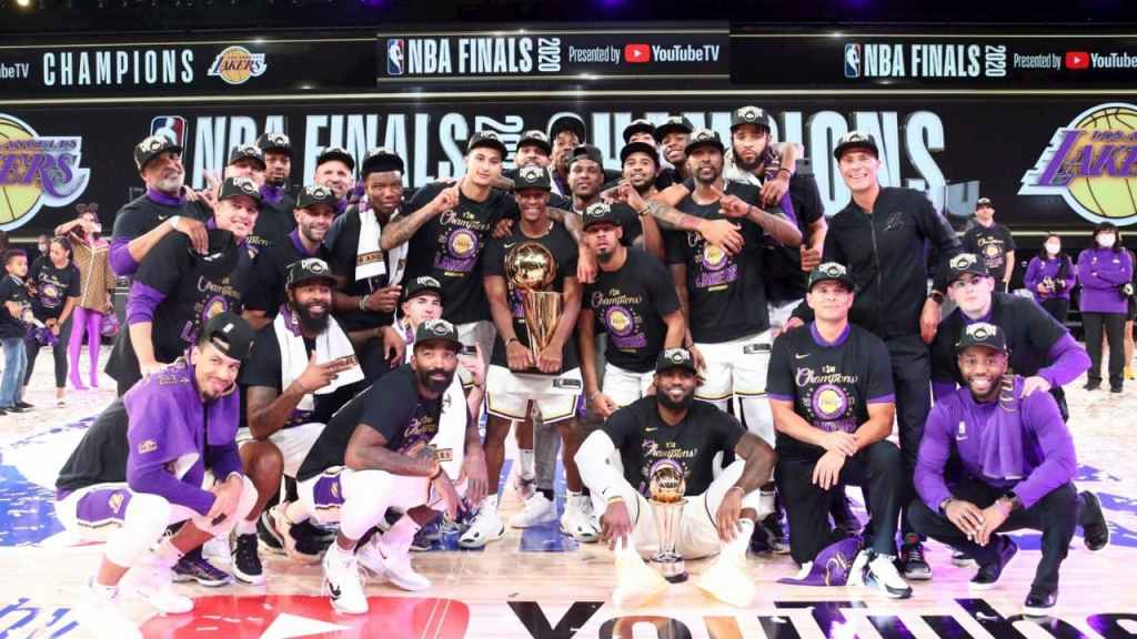 Lakers campeones NBA 2020