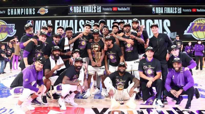 Lakers campeones NBA 2020