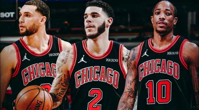 Lavine Ball DeRozan Chicago Bulls