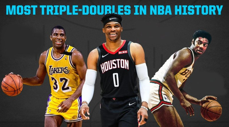 Más Triples-Dobles NBA