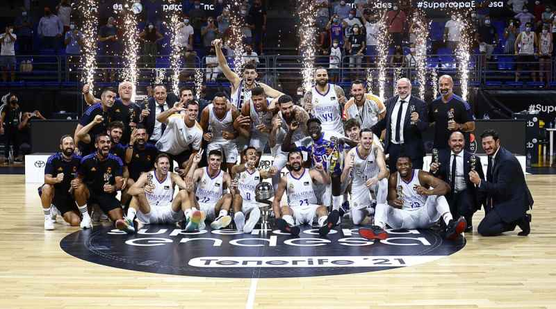 Real Madrid campeón Supercopa ACB 2021