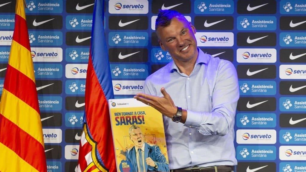 saras jasikevicius entrenador fc barcelona