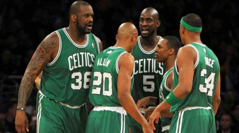 Shaquille O'Neal Boston Celtics