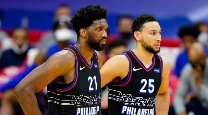 Philadelphia Sixers Simmons Embiid