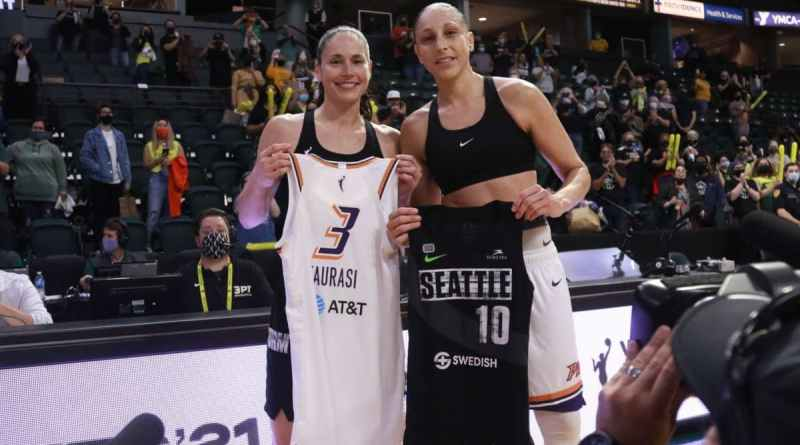 Sue Bird Diana Taurasi WNBA