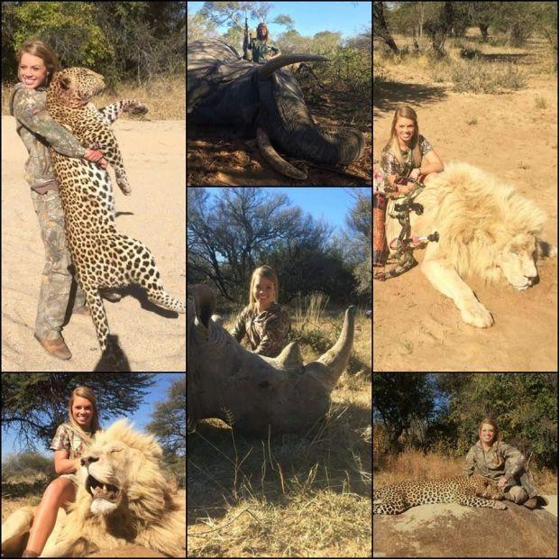 Facebook elimina fotos de cazadora de animales
