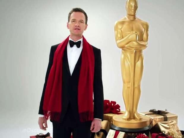 Neil Patrick será el presentador de los premios Óscar.