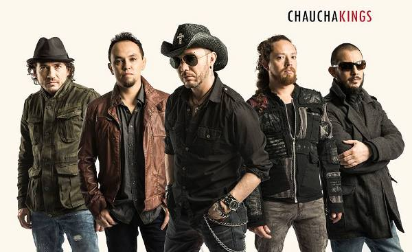 Fabio Ferro, Pablo Santacruz, Hugo Ferro, Diego Miño y Andrés Sacoto integran Chaucha Kings.