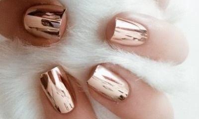 cromo nails o uñas espejo 5